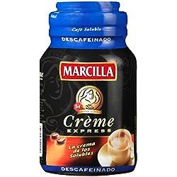 Marcilla Crème Express Café Soluble Descafeinado - 200 gr