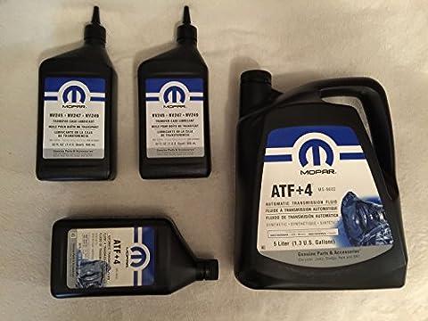 Origine Mopar ATF + 4Transmission automatique & nv247Étui de transfert de fluide 5016796AC 68218058AA
