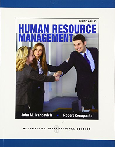 Human Resource Management John Ivancevich Pdf