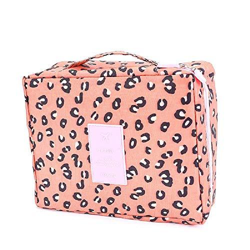 SHUIZAI Cosmetic Bag koreanische multifunktions - tasche Reisen tragbare schminkkoffer Frau Mann, reisetaschen Tourismus waschen. Rosa (Rosa Bleistift Becherhalter)