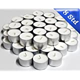 1 X 100 Tea lights up to 8 Hours burning Time at good price