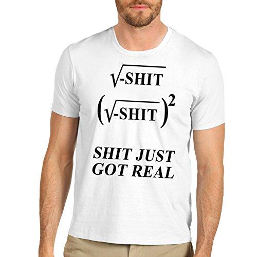 TWISTED ENVY  Herren T-Shirt Weiß - Weiß