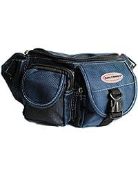 Bag Street - Bag Street Bauchtasche Hüfttasche Blau Nylon Gürteltasche - Bleu