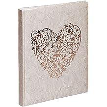 Pagna 11663–15–Álbum de boda, Sweet Heart oro 48+ 4S, cartón, diseño, 270x 330mm