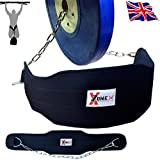 Onex New Dipping Belt Gym Weight Lifting Dipping Power Belt Chain Back Support Fitness Training Body Building