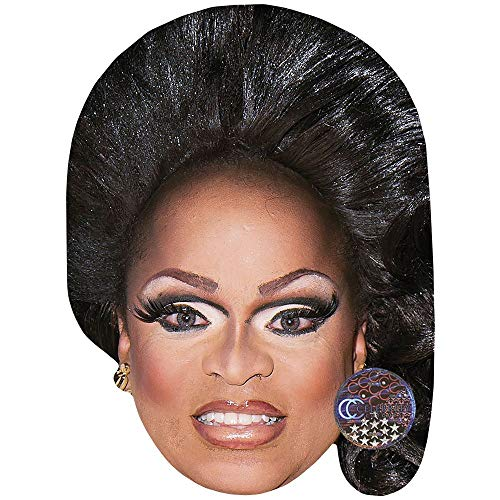 Celebrity Cutouts Kennedy Davenport (Make Up) Maske aus ()