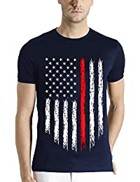 ADRO Men's Cotton T-Shirt (Rnr-M-Usa-Nb)