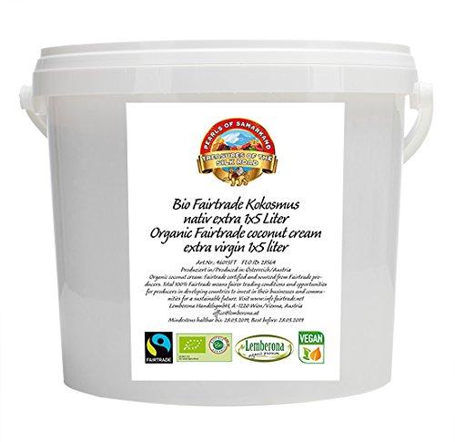 Crema de coco 5kg orgánica