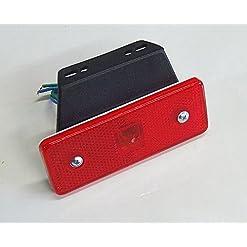 1x LED Rosso 12V coda posteriore luci Camper camion rimorchio
