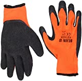 Best Thermal Gloves - Scan GLOKSTHER Knitshell Thermal Gloves - Orange/Black Review