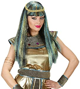 WIDMANN Peluca para Disfraz de Adulto Cleopatra (C0584)