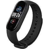 M5 Smart Fitness Tracker Bluetooth Activity Tracker con pressione sanguigna/cardiofrequenzimetro, cinturino smart…