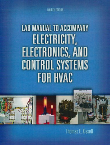 Lab Manual for Electricity, Electronics, and Control Systems for HVAC