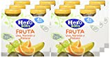 Hero Baby Zumo de Uva Naranja y Plátano para Bebés a partir de 4 Meses Pack de 6 unidades de 2 x 130 ml