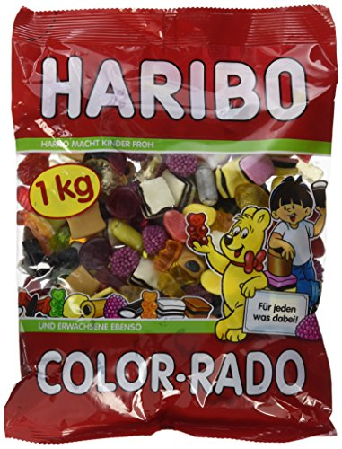 Haribo Color-Rado, 3er Pack (3 x 1 kg)