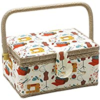 Boîte à couture, D & D Kit de couture pour la maison et les voyages–Medium basket - orange