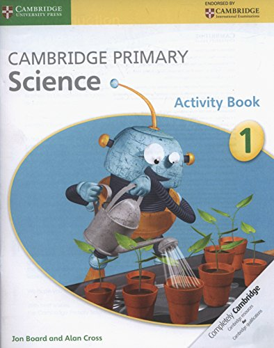 Cambridge Primary Science Stage 1 Activity Book por Jon Board