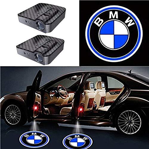 Preisvergleich Produktbild 2 Pcs LED Einstiegsbeleuchtung, Autotür Logo Licht Willkommen Laser Projektor Logos Geist Schatten Licht Lampe für Auto Alle Modelle
