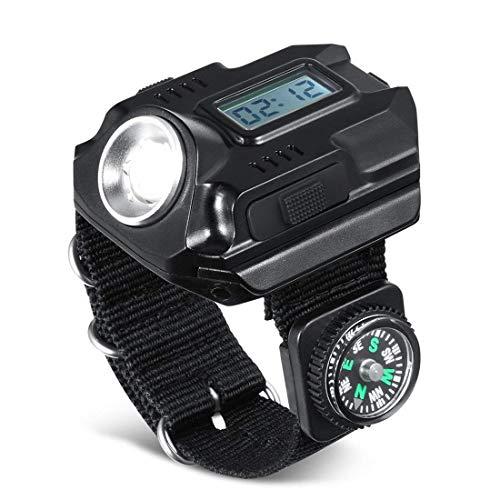 Römer kraftvolle, helle Handgelenk LED-Licht USB Wiede… | 00650434682909
