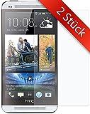 Movoja 2 STÜCK - One-M7 Schutzfolie - | 0.2mm | Blasenfrei | Full HD Transparenz | Anti Fingerabdruck - HTC One-M7 Displayschutzfolie One-M7