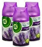 Airwick Freshmatic Automatisches Duftspray/Nachfüller/Spray zum Nachfüllen, Lavendel/Purple Lavender Meadow, 250 ml, 3 Stück