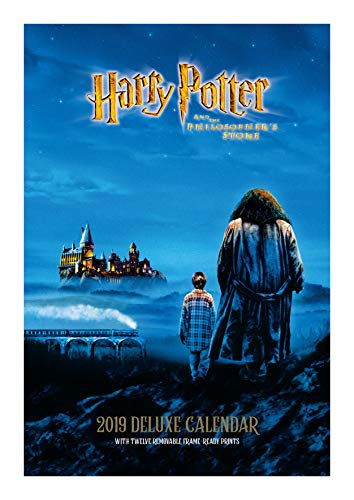 Harry Potter Deluxe Official 2019 Calendar - A3 with Presentation Envelope Format par Harry Potter Deluxe