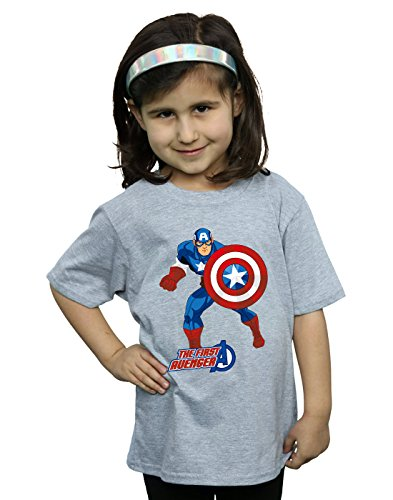 Marvel Niñas Captain America The First Avenger...