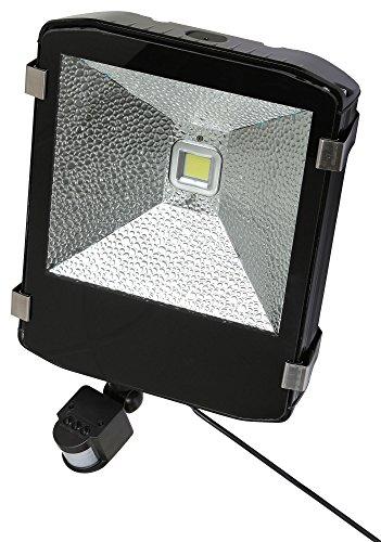 Kerbl 34573 LED-Außenstrahler 80 W mit Bewegungsmelder