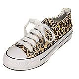 Toocool–Zapatos de mujer para hacer gimnasia, leopardo,deportivas...