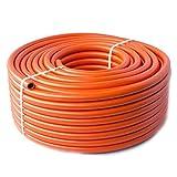 Quantum Garden Tubo di Gas ad Alta Pressione per GPL/propano/butano Ideale per Il Campeggio/I roulotte/grigliate 5m x 8mm