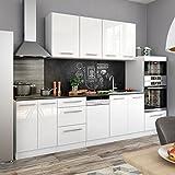 animalmarketonline Küche Wasch Einbauküchen Line von Energie über Pantry Vicco 295cm glänzend S-Line