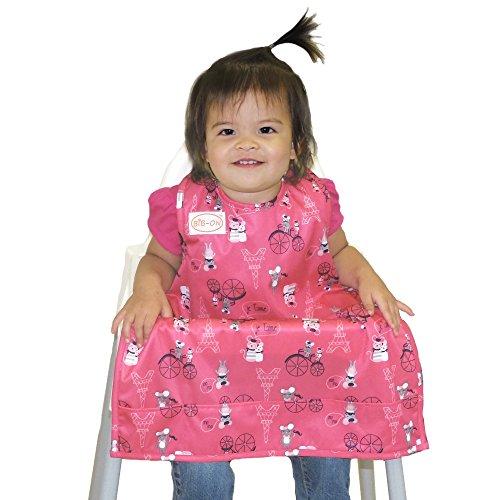 Eine neue, einzigartige Kombination aus Lätzchen und Schürze für Babies und Kleinkinder im Alter von 0 - 4 oder mehr Jahren. Eine Größe für alle!