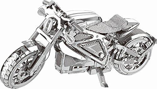 Tronico Spiel + Technik 30314 Motorrad Nein 3D Metallbausatz, Metallic