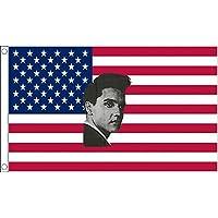 BANDERA de los ESTADOS UNIDOS ELVIS PRESLEY 150x90cm - BANDERA AMERICANA - EE.UU 90 x 150 cm - AZ FLAG