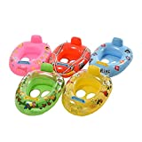 #8: TOTAM Cute Cartoon Baby Boys Girls Swim Pool Water Sports Baby Float Inflatable Float Swimming Laps Rings Seat Boat Toys