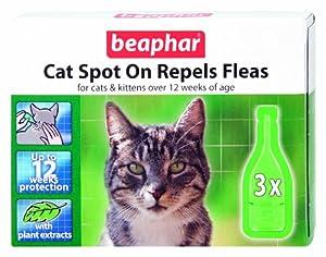 Beaphar Cat Spot-On Repels Fleas by Beaphar