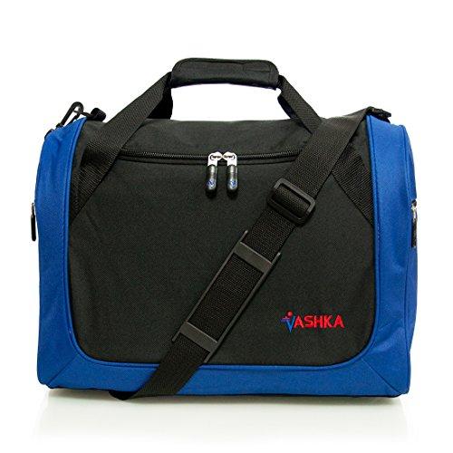 Vashka Reisetasche On-board Wizzair Cabin Bag / Handgepäck 42x32x25cm Massive 30 Liter Fassungsvermögen - Blau