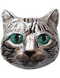 Buckle / Gürtelschnalle Katze 3D