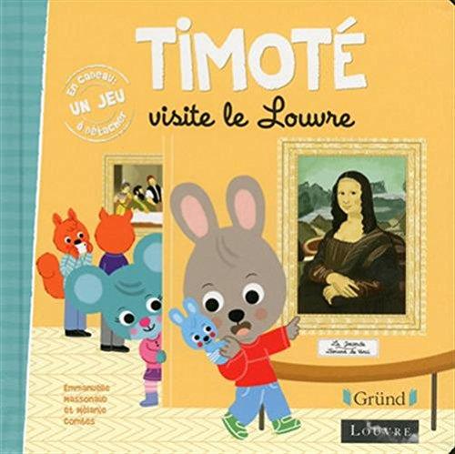 Timot visite le Louvre