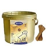 1 kg Lyra Dog Senior im Eimer Premium Hundefutter für ältere Hunde + 2 Knochen