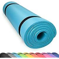 diMio Tapis de Yoga / Pilates 185x60cm 5 couleurs au choix 2 épaisseurs Antidérapant