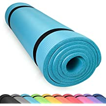 diMio–Esterilla de yoga/pilates sin ftalatos y con certificado SGS., Skyblue