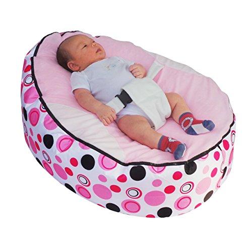 Mama Baba - Puf de bebé de alta calidad con relleno - Entrega rápida