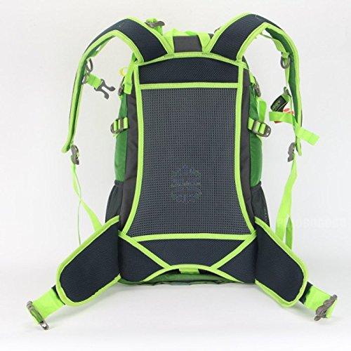 Jolon Unisex Rucksack, 35 l, für Wandern, Camping und Nylon grün