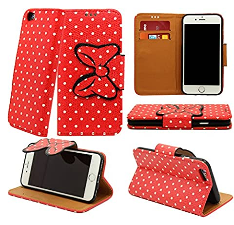 NWNK13® Samsung Galaxy S4 / i9500 Pu Leather Book Wallet Flip Case Cover Plus Screen Protector & Polishing Cloth (Knot