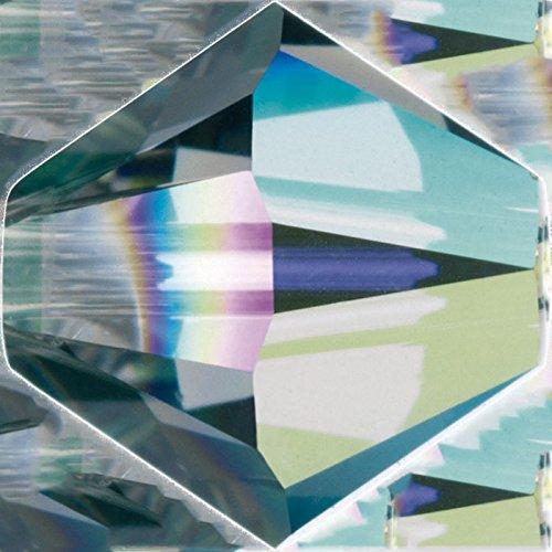 Original Swarovski Elements Beads 5328 MM 4,0 - Olivine (228) ; Diameter in mm: 4.0 ; Packing Unit: 1440 pcs. Black Diamond Aurore Boreale 2x (215 AB)