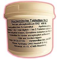 Römer-Apotheke Biochemie Tabletten Nr. 3 Ferrum phosphoricum D12 preisvergleich bei billige-tabletten.eu