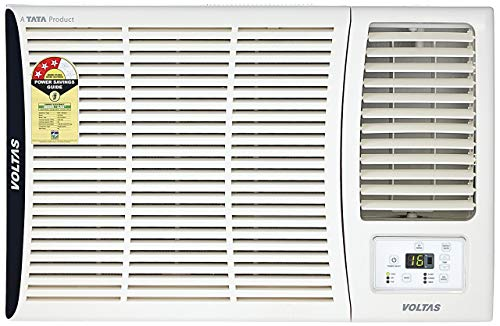 Voltas 1.5 Ton 3 Star Window AC (Copper, 183 DZA, White)