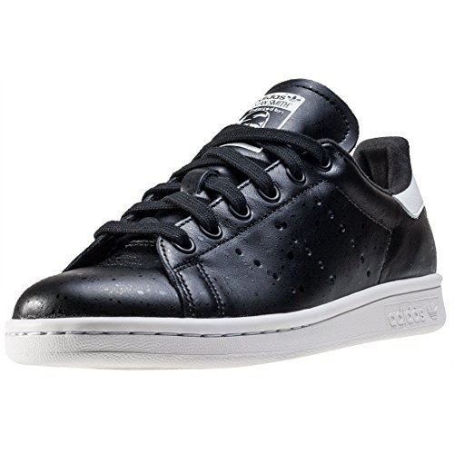 adidas Stan Smith, Gymnastique mixte adulte Nero (Cblack/Cblack/Crywht)