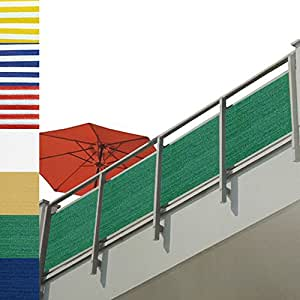 brise vue pour balcon terrasse paravent vert. Black Bedroom Furniture Sets. Home Design Ideas